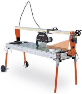 BATTIPAV SUPREME 150S (230 V) asztali vizes csempevágó lézervezetővel