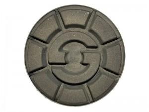 DR. SCHULZE polirozó/fényező gyantás d80mm/12mm betonra, kemény padlóra