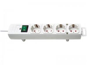 Comfort-Line 4-es elosztó 2,0m H05VV-F 3G1,5 fehér