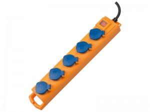 SL 544 D 5-ös elosztó IP 54 2m H07RN-F 3G1,5 sárga