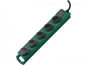 SL 544 D 5-ös elosztó IP 54 5m H07RN-F 3G1,5 zöld
