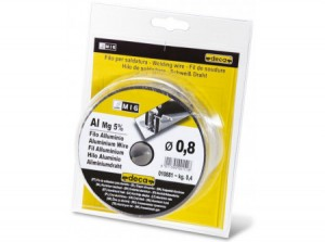 Deca hegesztőhuzal (alu/magnesium 5%) 60 - 170 Amp, D.0,8mm, 0,4kg