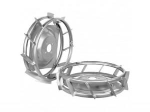 AGT Körmös acélkerék (pár) 40x10 cm