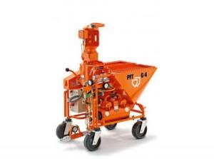 PFT G4 STANDARD 400V víznyomásfokozó szivattyúval