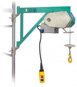IMER ES 150 építkezési csörlő 150kg / 0,45kW / 30m