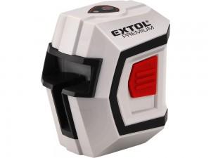 Extol Premium automatikus lézeres vízszintező, piros, 1H1V (1 horizontális+1 vertikális)
