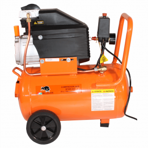 Bisonte SF020-025 olajkenésű kompresszor (1,5kW, 25L, 8bar)