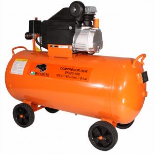 Bisonte SF020-100 olajkenésű kompresszor (1,5kW, 100L, 8bar)