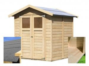 KARIBU DAHME 3 fából készült kerti ház (14517) SET