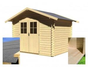 KARIBU SEEFELD 5 fából készült kerti ház (14523/26125) SET