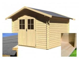 KARIBU SEEFELD 6 fából készült kerti ház (14524) SET