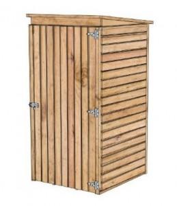 SOLID DEBORA 1 fából készült kerti ház - 90 x 96 cm (S8581-1)