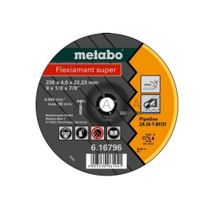 Metabo Flexiamant Super Pipeline csiszolókorongok (ZA 24-T)
