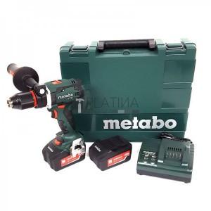 Metabo BS 18 LTX Impuls akkus fúró- csavarbehajtó (2 x 4.0Ah)