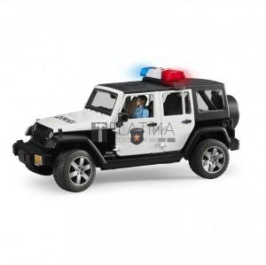 Bruder Jeep Wrangler Unlimited Rubicon rendőrségi jármű (02526)