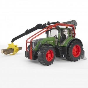 Bruder Fendt 936 Vario erdészeti traktor (03042)