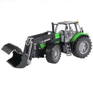 Bruder Deutz Agrotron X720 traktor markolóval (03081)
