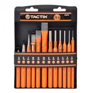 Tactix kiütő és véső készlet (12 részes)