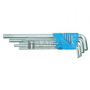 Gedore H 42 EL-88 hosszú Imbusz® kulcskészlet (8 részes)