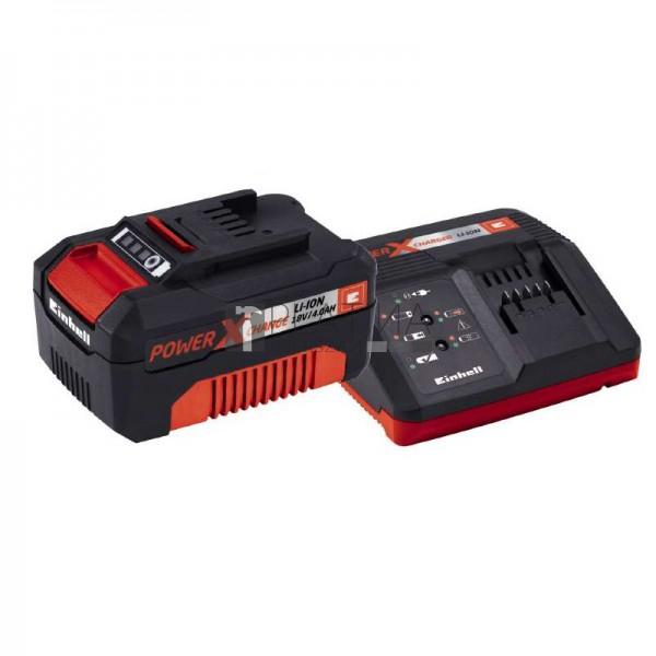 Einhell PXC Starter Kit akku + töltő 4,0Ah 18V