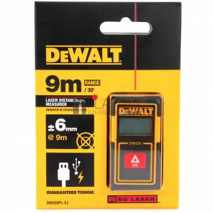 DeWalt DW030PL-XJ lézeres távolságmérő (9m)