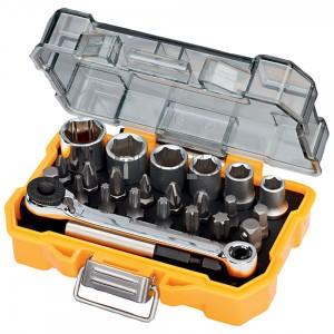 DeWalt DT71516-QZ csavarozó- és dugókulcs készlet 24 részes