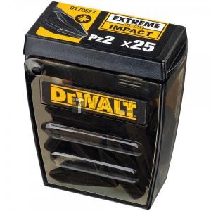 DeWalt DT70527-QZ Extreme Impact Ready Pz2 bit készlet TicTac 25 darabos