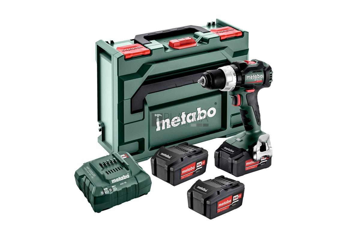Metabo BS 18 LT BL Set akkus fúrócsavarozó (3 x 18V 4.0Ah)