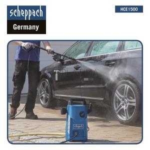 Scheppach HCE 1500 magasnyomású mosó 105 bar tartozékokkal