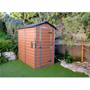 Palram Skylight  4X6 barna kerti ház