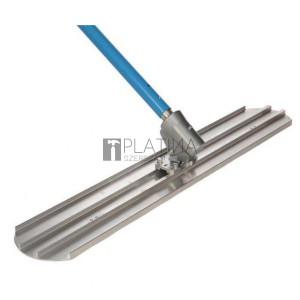Betontrowel kézi betonlehúzólap, állítható fejű, magnéziumos 90cm (3x1,8m nyéllel)