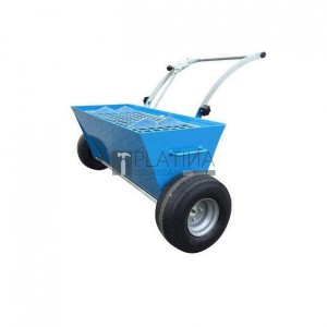 Betontrowel szárazanyag szórókocsi kétkerekű BT2WMS