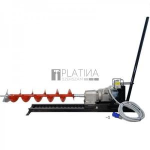 Eurokomax vízszintes ipari talajfúrógép elektromos 230V (tartozékokkal)