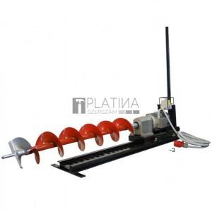Eurokomax vízszintes ipari talajfúrógép elektromos 400V (tartozékokkal)