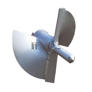 Eurokomax fúrófej, kétélű kezdőtag ipari talajfúrógéphez 130mm