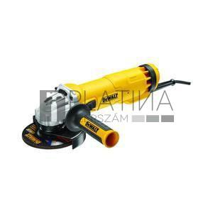 DeWalt DWE4237-QS sarokcsiszoló áramkimaradás kapcsolóval