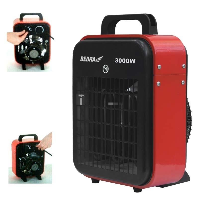 Dedra DED9921B elektromos hősugárzó 3kW