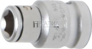 BGS Technic Golyós behajtófej-adapter | 10 mm (3/8 ) - Belső hatszögletű 8 mm (5/16 )