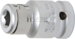 BGS Technic Golyós behajtófej-adapter | 12,5 mm (1/2 ) - Belső hatszögletű 8 mm (5/16 )