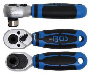 BGS Technic behajtófej-racsni | belső hatszögletű 10 mm (3/8 )