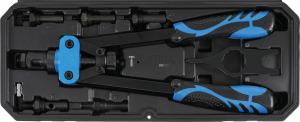 BGS Technic szegecsanya-fogó készlet | M3 - M8 | 7 darabos