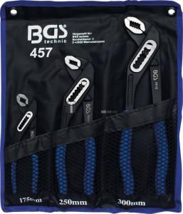 BGS Technic Vízpumpafogó nyomógombos | 3 darabos