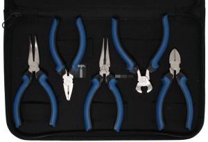 BGS Technic Műszerész mini fogó készlet | 5 darabos