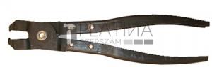 BGS Technic Gumiharang-bilincs fogó | kampó nélküli gumiharangokhoz | 235 mm