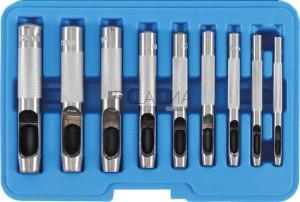 BGS Technic Lyukasztó készlet | 3 - 12 mm | 9 darabos
