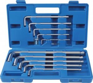 BGS Technic Derékszögű kulcs készlet |  Maxi  | Belső hatszögletű 3 - 17 mm | 10 darabos