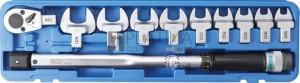 BGS Technic Nyomatékkulcs-készlet | 40 - 210 Nm | 11 darabos