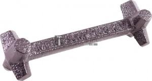 BGS Kraftmann Olajteknő-kulcsok | 8 méret | négyszögletű, hatszögletű 10 - 17 mm