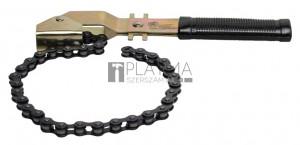 BGS Kraftmann Láncos olajszűrő-leszedő | 400 mm