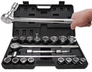 BGS Kraftmann Dugókulcskészlet | 20 mm (3/4 ) | 19 - 50 mm | 20 darabos